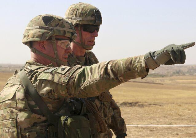 Militari americani della missione Inherent Resolve in Afghanistan