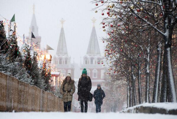 I 10 luoghi preferiti dai turisti stranieri in vacanza in Russia per le festività di fine anno. - Sputnik Italia