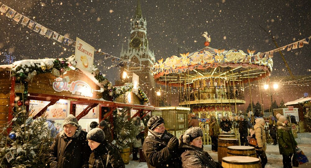 Il Capodanno a Mosca