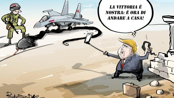 Trump ha ordinato di ritirare le truppe USA dalla Siria - Sputnik Italia