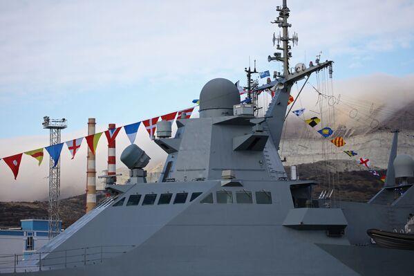 Entra in servizio la nuovissima corvetta Vassiliy Bikov. - Sputnik Italia