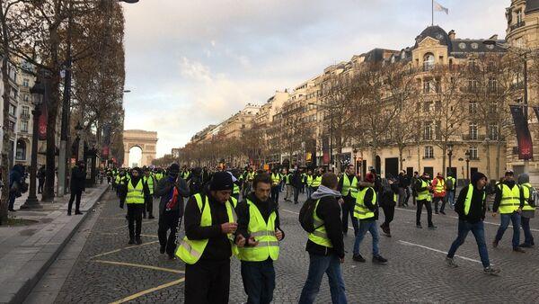 'Yellow Vests' Protesters - Sputnik Italia