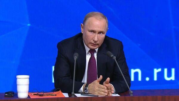 La conferenza stampa di fine anno di Vladimir Putin - Sputnik Italia