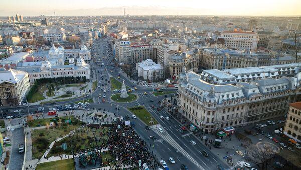 Вид на столицу Румынии Бухарест - Sputnik Italia