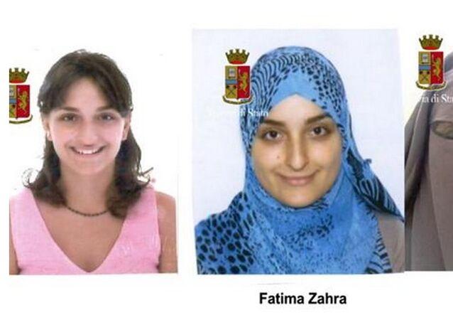 L'evoluzione di Maria Giulia Sergio, 'Fatima Az Zahra', 28 anni