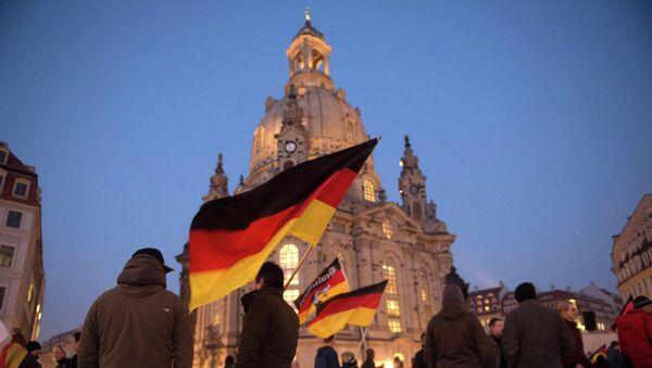 Dimostrazione Pegida a Dresda - Sputnik Italia