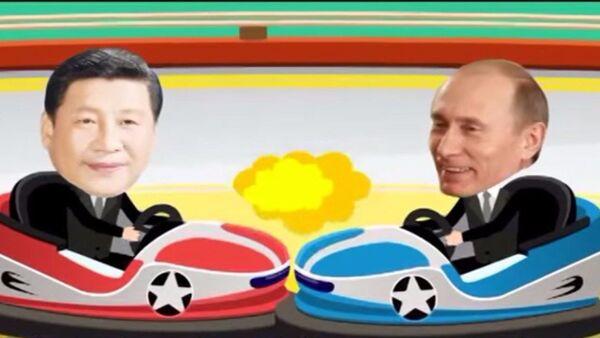 Cartone animato cinese sui summit BRICS e SCO - Sputnik Italia