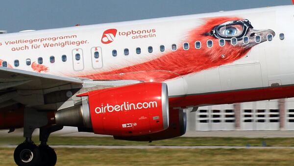 Aereo della compania Air Berlin - Sputnik Italia