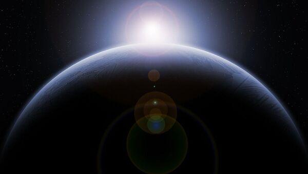 Художественное изображение неизвестной планеты - Sputnik Italia