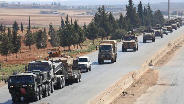Convoglio delle forze armate turche - Sputnik Italia