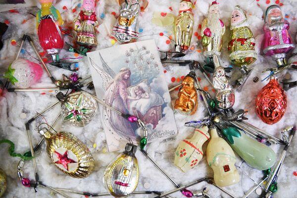 Mostra degli addobbi natalizi del secolo scorso a Tula. - Sputnik Italia