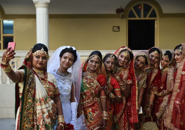 Matrimonio da record in India
