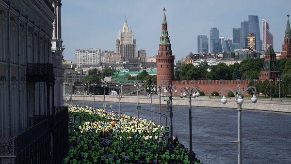 Vista sulla Moscova in centro città - Sputnik Italia