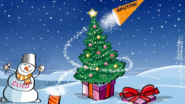Felice anno nuovo! - Sputnik Italia