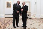 Presidenti della Russia e Bielorussia Vladimir Putin e Alexander Lukashenko, il 29 dicembre 2019