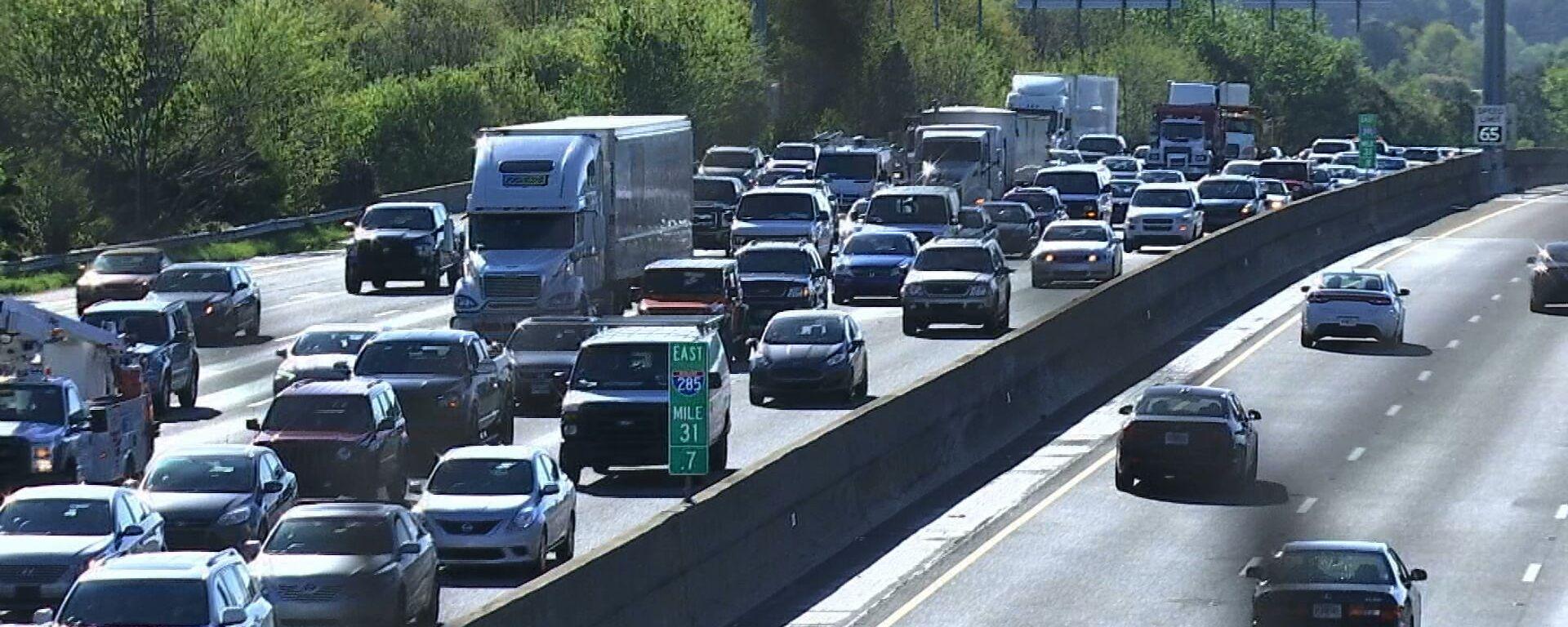 Traffico su un'autostrada - Sputnik Italia, 1920, 05.08.2021