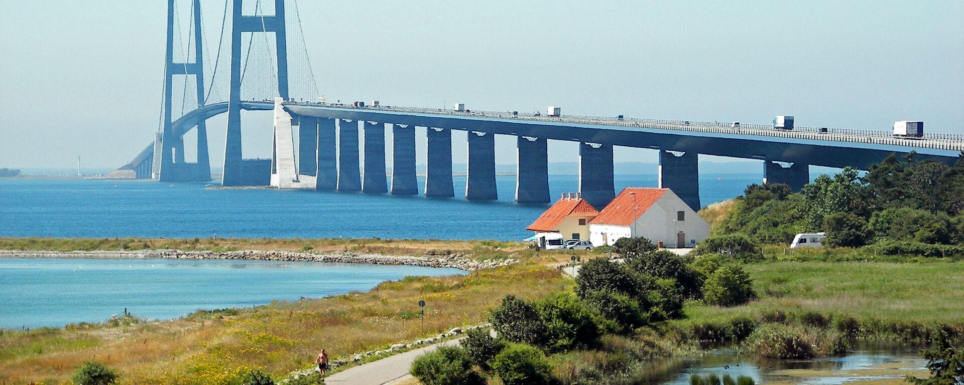 Il Ponte del Grande Belt, Danimarca - Sputnik Italia, 1920, 04.02.2021