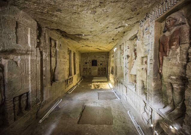 Sacrofato a Saccara scoperto in Egitto