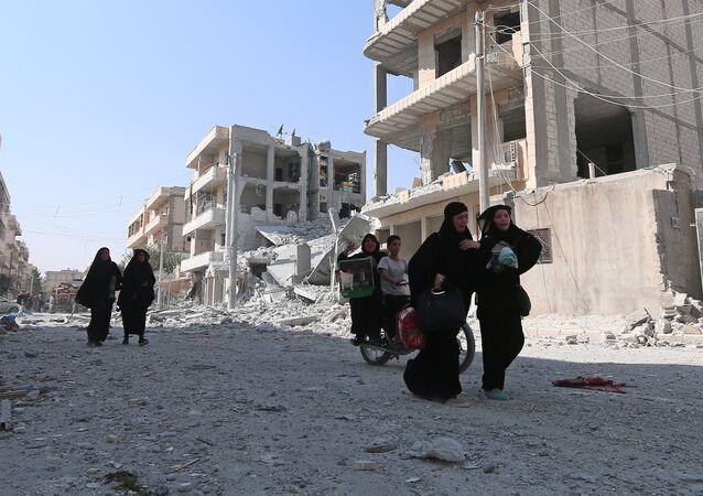 Donne nelle zone di conflitto in Siria (foto d'archivio)