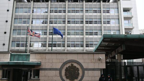 The UK Embassy in Moscow - Sputnik Italia