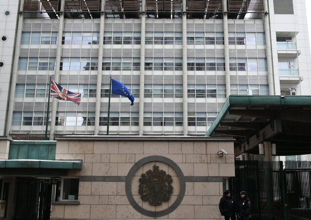 Ambasciata britannica a Mosca (foto d'archivio)