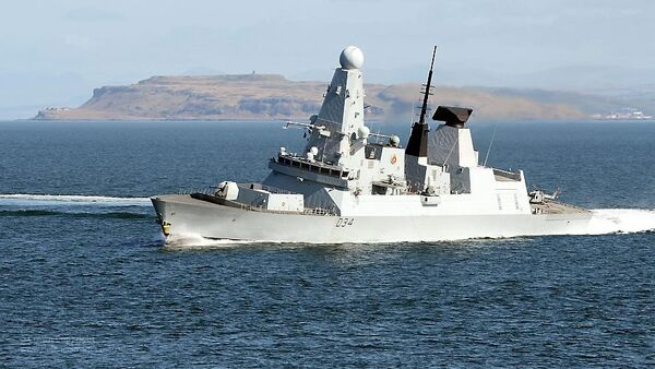 HMS Diamond - Sputnik Italia