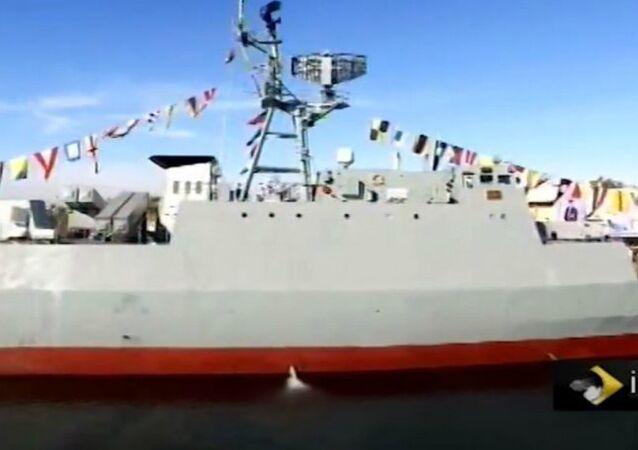 Iran's Sahand Warship
