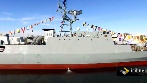 Iran's Sahand Warship - Sputnik Italia