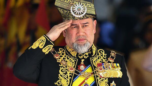 Il re della Malesia Muhammad V - Sputnik Italia