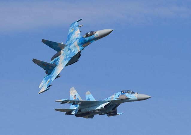 Caccia russi Su-27