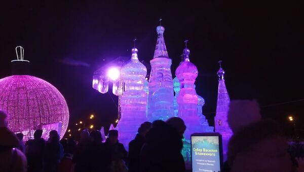 Mosca: il festival di ghiaccio - Sputnik Italia