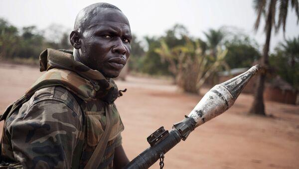 Un soldato della Repubblica Centrafricana - Sputnik Italia