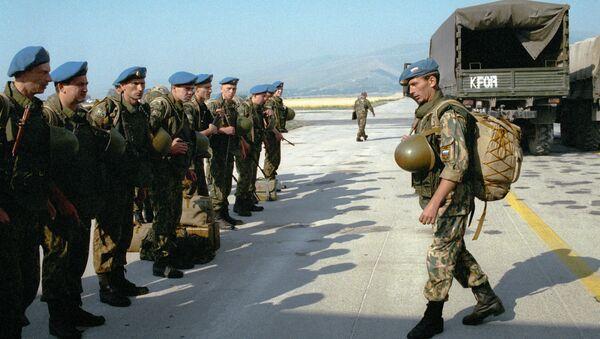 La forza di pace russa in Kosovo - Sputnik Italia