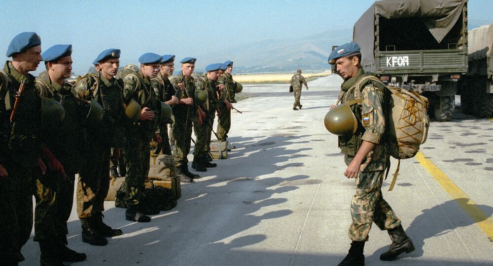 La forza di pace russa in Kosovo