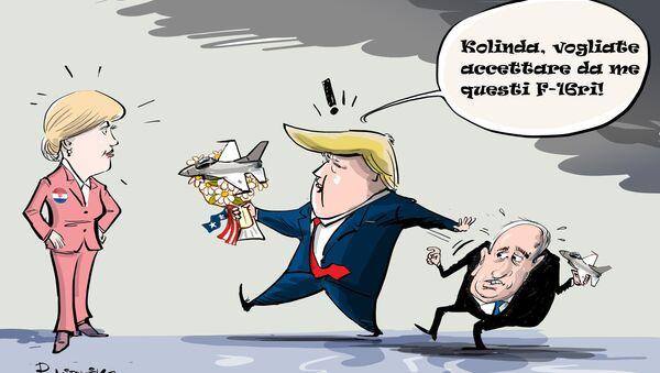 Trump romanticone - Sputnik Italia