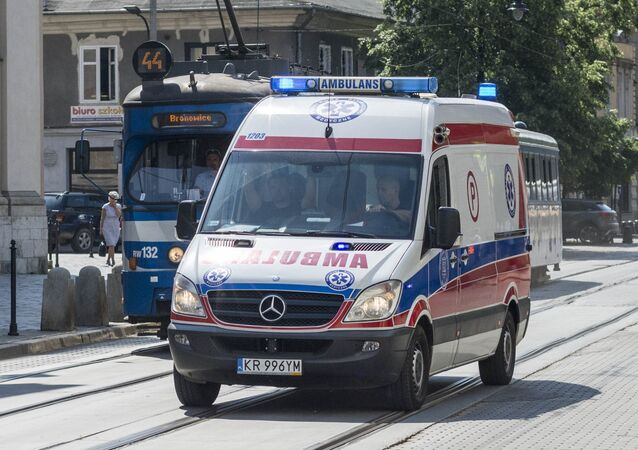 Ambulanza in Polonia