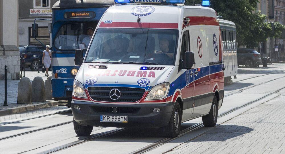 Ambulanza in Polonia