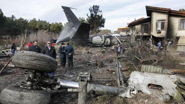 Il luogo dello schianto del Boeing 707 in Iran - Sputnik Italia