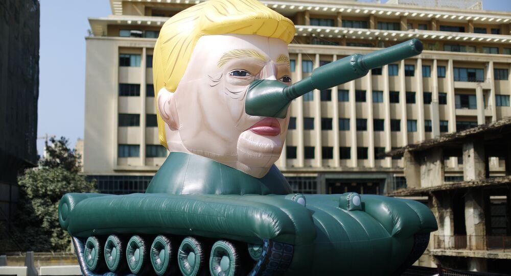 Un carro armato Trump