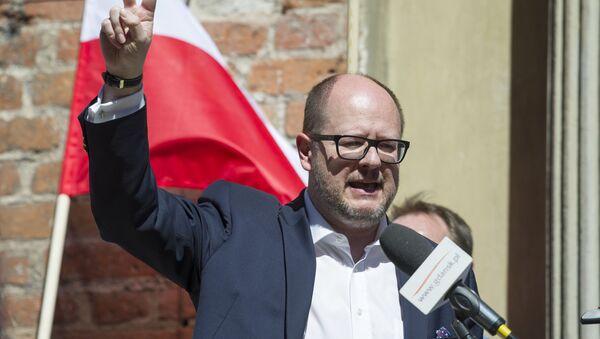 Paweł Adamowicz, sindaco di Danzica - Sputnik Italia