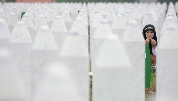 Cimitero di Srebrenica - Sputnik Italia