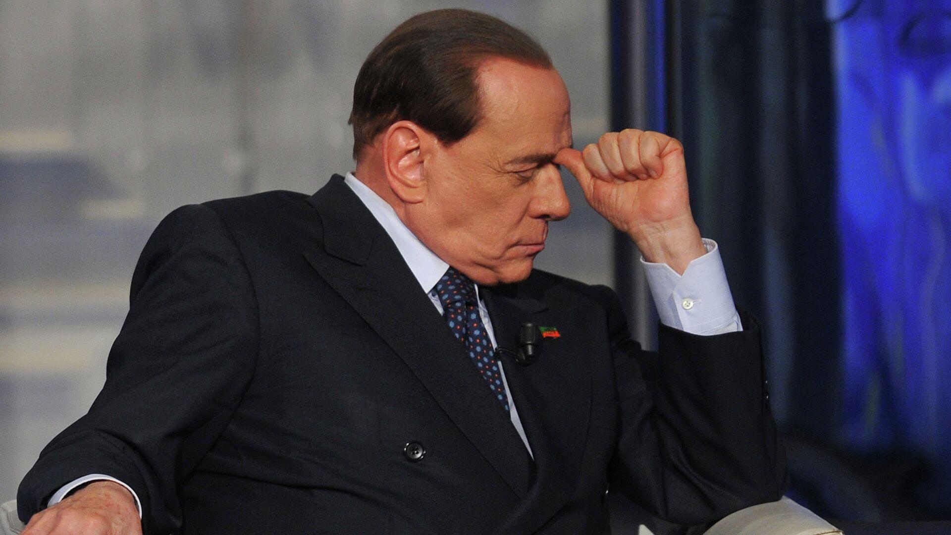 L'ex premier italiano Silvio Berlusconi  - Sputnik Italia, 1920, 31.08.2021