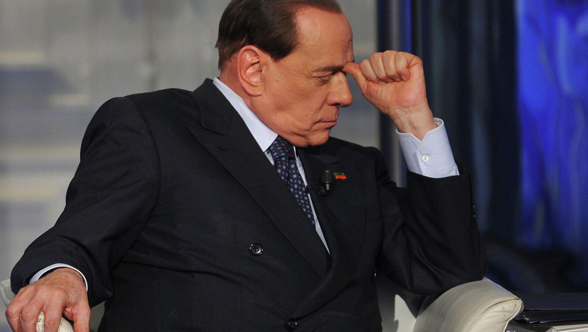 L'ex premier italiano Silvio Berlusconi  - Sputnik Italia, 1920, 21.04.2021