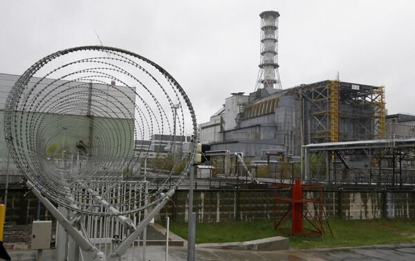 Il reattore 4 della centrale nucleare di Chernobyl - Sputnik Italia