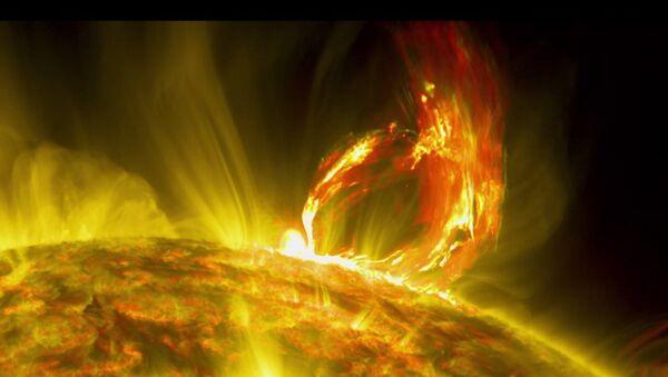 NASA: un'eruzione solare spettacolare - Sputnik Italia