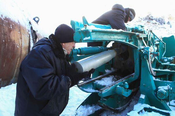 In caso di neve ci vuole un cannone - Sputnik Italia