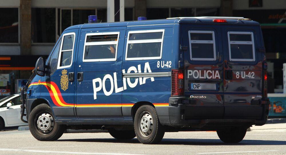 Polizia nazionale spagnola (foto d'archivio)