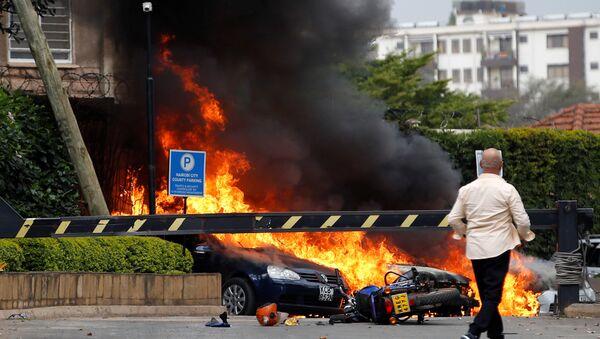 Kenya, spari ed esplosioni in un hotel di Nairobi, il 15 gennaio 2019 - Sputnik Italia