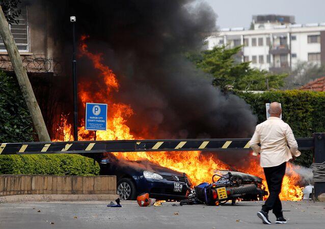 Kenya, spari ed esplosioni in un hotel di Nairobi, il 15 gennaio 2019