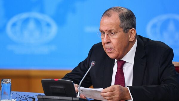 Russian Foreign Minister Sergei Lavrov is holding his annual big press conference. - Sputnik Italia